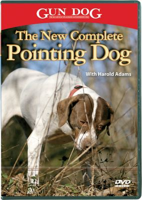 Hunting Harold Adams covers training from pup to polished performer in a step-by-step approach that is easy to follow and implement. Much of Adams' footage includes the use of young dogs that are actually being trained at that moment. This video includes basic commands; introduction to birds and guns; various techniques for teaching the whoa'' command; retrieving; honoring another dog's point; and steadiness to wing and shot. 43 minutes. DVD. - $11.24