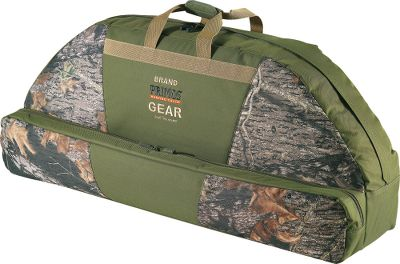 "Hunting Leave your stabilizer, sight and quiver on your bow and still be able to store it safely. The shape and design of this case make this possible. It's crafted of a heavy-duty 600-denier polyester fabric with a weather-resistant coating that stands up to rain and snow. It even has a convenient arrow case pocket, along with one exterior and two interior accessory pockets. Imported. Dimensions: 40-1/2""L x 18-1/2""W x 9-1/2""D. Type: Bow Cases. - $44.88"
