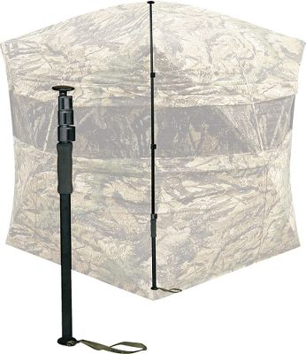 Hunting The Snow Support keeps your blind standing in winter-weather conditions. It prevents collapsing from snow, ice and even added brush-in materials applied to the top of the blind. Imported.Height: Adjustable from 25 to 81. Type: Snow Support. Ground Blind Type: Ground Blind Accessories. - $19.99