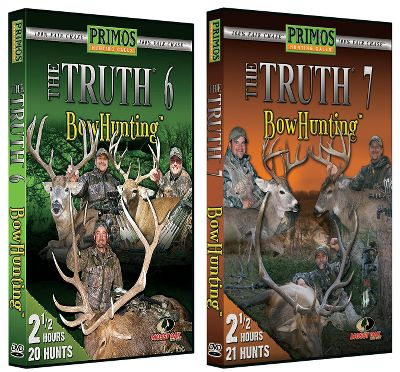 Fitness In The Truth 6 and 7, feel the excitement as you witness trophy whitetails and elk running to the call and bears cautiously approaching for heart-pounding-close shots. 330 minutes of adrenaline-pumping action. - $19.99