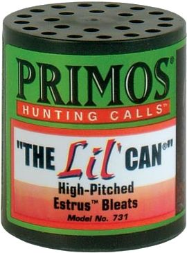 Hunting This smaller call replicates the higher-pitched bleats of young does. Perfect for early-or late-season hunting. - $8.88