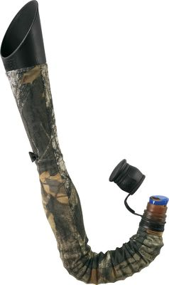 Hunting The Baffle Bugle Elk Call lets you precisely control volume while maintaining high-pitched bugles. The baffle opens for greater volume or greater back pressure. Includes two snap-on reeds, camo cover, mouthpiece, protective-rubber cap, instructional DVD and sling lanyard. Color: Camo. - $23.88