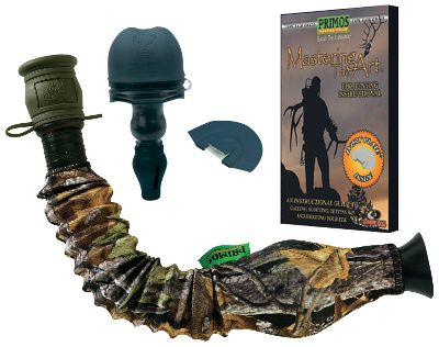 Hunting When it comes to mastering the art of calling elk, Primos is way ahead of the competition. The Elk Hunter's Pack has all the tools you need to reproduce accurate calls to bring elk into range. This package includes a Hoochie Mama, a Super Pack Bugle, a Hyper Plate Single diaphragm and Mastering the Art instructional DVD. - $51.99