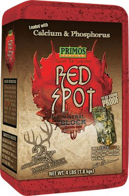 Hunting Give deer what they crave. Loaded with essential vitamins and minerals, it attracts up to two times more deer, leaving them no choice but to keep coming back for more. Sustained-release formula with calcium, phosphorous and mineral oils. Size: 4 lbs. Color: Red. Type: Deer Attractants. - $4.99