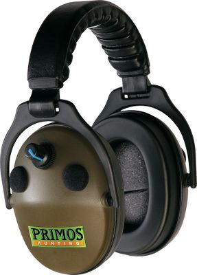 Primos Dual Analog headsets offer basic hearing protection with a noise reduction rating of 24db and enhancements from omni-directional microphones. Ergonomically designed headband keeps soft Butyl rubber ear pads perfectly aligned on ears. Acoustically designed shell gives superior clarity with individual volume and AFT controls. Batteries included.Available: Olive Green. Type: Hearing Protection. Green. - $89.99