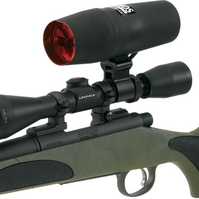 Hunting Whether youre walking creek bottoms or calling predators at night and need light when its time to shoot, no varmint will go unseen with Primos Nightblaster Scope Lights. These scope lights allow you to have ample shooting light, without all the bulk from carrying a spot light. Simply attach the light to your scope and run the switch wire to wherever you feel most comfortable. From there, it is as simple as flipping the switch and taking aim. Black finish. Available: Nightblaster Compact 100-yard 6-volt: Compact, lightweight unit with brilliant 100-yard quartz halogen spot beam. Includes 6-volt battery with nylon carrying case, 110-volt charger and red varmint lens. Fits 1 scopes. Nightblaster Max 250-yard 6-volt: Powerful 250-yard quartz halogen beam. Includes 6-volt battery with nylon carrying case, 110-volt charger and red varmint filter lens. Fits 1 scopes. Nightblaster Max 350-yard 6-volt: Xenon 55-watt bulb delivers a piercing 350-yard beam. Beam-adjustment knob and stock-mounted switch. Includes 6-volt battery with nylon carrying case, 110-volt charger and red varmint lens. Weighs only 10 oz. Fits 1 scopes. Nightblaster Max 350-yard 12-volt: 350-yard light beam. 12-volt light that plugs into any 12-volt receptacle. Battery not included. Color: Black. Type: Light. - $54.88