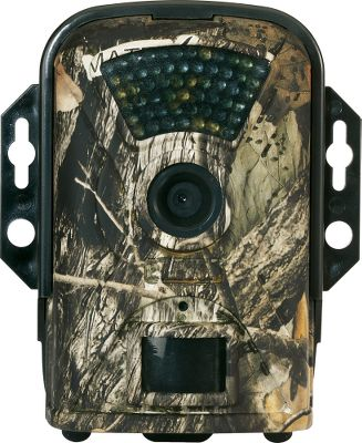 Hunting This ultracompact trail camera boasts a wide 90 field of view to ensure no game goes unseen. Photo, video and time-lapse capture modes are all adjustable to user specifications. Anti-blur technology and 40 infrared LEDs capture clear nighttime images. Easily view photos in the field on the 2.5 LCD screen. Accepts SD memory cards up to 32GB (SD card sold separately). Requires eight AA batteries (not included). Battery life tested beyond 60,000 photos; batteries last up to one year on standby. One-year manufacturers warranty. Dimensions: 6H x 3.75W x 2.25D. Camo pattern: Matrix Camo. - $199.88