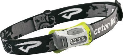 Camp and Hike Compact and lightweight, this headlamp is so comfortable you might forget you had it on were it not for the bright beam casting light where you want it. Outfitted with four super-bright LEDs, this unit puts out 43 lumens of white light. Three AAA batteries (included) provide power for up to 146 hours of continuous use. There are four power output levels including low, medium and high, along with an emergency fast-flash strobe feature. Rated waterproof to level one standards, so you can use this potent light in rain or drizzle. - $16.88