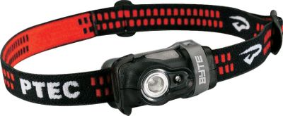 Camp and Hike Dont be fooled by the small size and light weight of this sturdy headlamp. Its bright white Maxbright LED can cast a 50-lumen beam precisely where you want it. And it also has a red Ultrabright LED for seeing in the dark without compromising your nightvision. Adjust the headband for optimal comfort. Run time is up to 146 hours on two AAA alkaline batteries (included) or lithium batteries (not included).Weight: 2.25 oz. Type: Headlamps. - $19.99