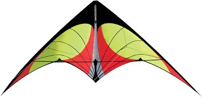 "Camp and Hike The Nexus is a high-speed performance kite specifically designed for travel. Its 60"" wingspan when assembled makes it big enough for great kite action, yet it breaks down small enough to fit in your suitcase. The light-to-medium pull is great for novice to intermediate-level kiters. Works best in winds from 4-22 mph. Comes with a carbon/fiberglass frame, 65 ft. of 90-lb. Spectra line, a nylon/Mylar sail and zippered travel case.Wingspan: 60"". Colors: Yellow, Blue. - $49.88"