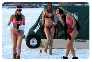Fish - Freshwater | the ladies are going ice fishing