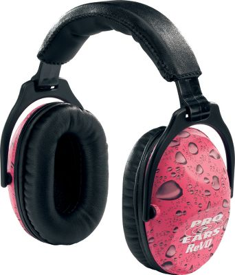 These muffs are designed from the ground up to fit children and smaller adults. Adjustable headband and ProForm leather ear cushions provide maximum comfort. NRR of 26db. Colors: Purple Rain, Pink Rain, Skulls, Zombie. Color: Purple. Gender: Male. Age Group: Adult. Material: Leather. - $36.99