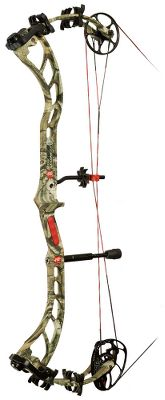 Hunting Re-engineered from the ground up with a low-flex riser, it offers consistency and improved accuracy with the proven pedigree of the Bow Madness series. Madness Pro single cam features a Posi-Lock inner cam thats adjustable in 1/2 increments without changing modules. The draw cycle has been optimized for improved feel. Highly adjustable draw-weight range. Right hand only. Made in USA.Camo pattern: Mossy Oak Break-Up Infinity. - $549.88