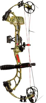 "Hunting Designed for hardcore bowhunters, this bow features past-parallel limbs for reduced noise and vibration, a Planar Flex riser for added rigidity and the new Backstop 2 for string vibration control. Add in an ultraslim Raptor Grip for reduced hand torque and you have one of the most consistent shooting and fastest single-cam bows on the market. Amp cams are made of 7075 aircraft-grade aluminum for increased strength and decreased weight. With this bows unique geometry, a larger string track improves reliability and performance. Made in USA.Camo pattern: Mossy Oak Break-Up Infinity.Prophecy RTS Package includes: bow, Aries sight, QS Whisker Biscuit rest, Flexxtech camo stabilizer, Mongoose quiver, PSE neoprene sling, peep sight and string loop. Let-Off: 75%. Brace Height: 7"". Type: Bow Packages. Hand: Right. Draw Weight (lbs.): 60-70. Draw Length (in.): 25-30. Color: Mossy Oak Break-Up Infinity . Bow Weight (lbs.): 4.1. IBO Speed (fps): 326-350. Axle To Axle: 32"". Rh 25-30""/60-70. - $584.88"