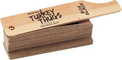 Hunting The easy one-sided design makes this call virtually mistake-free for making yelps, clucks and whines. Its realistic, raspy tone sounds even during inclement weather. The lid is American Hardwood Cherry and the body is American Walnut Hardwood. The box is covered with a special waterproofing formula and it never requires chalk. Type: Box Calls. - $22.88