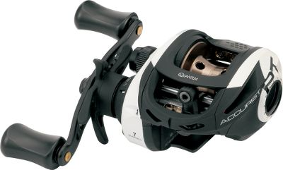 Fishing The one-piece aluminum frame and side cover is as rugged as it gets, delivering a lifetime of performance. The Flippin Switch increases control and presentation. Dual cast control system offers external magnetic control along with internal ACS centrifugal control for precise operation. Multiple gear ratios available, including the Burner 7.0:1 gear set. Type: Casting Reels. - $99.99