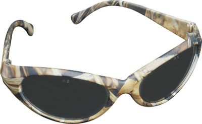 Hunting The same reliable eye protection that made Radians the choice for the off-season at the range is now available in camo glasses made especially for the hunting blind. The Cobalt features a sporty lightweight design with wraparound protection. Fits snugly for extra protection. Polarized lenses absorb 99.9% of UV rays. Hard-coated for scratch resistance. Impact-resistant (meets or exceeds ANSI Z87.1+ standards).Camo pattern/Lens Color: Advantage MAX-4 HD(TM)/Smoke, Mossy Oak Break-Up/Smoke. Color: - $19.99