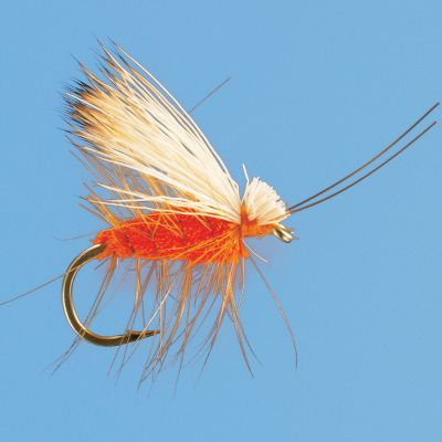 Flyfishing A great imitation for the October Caddis hatches found throughout the West. The clipped-hair body provides excellent flotation. Per 2. Sizes: 6, 8, 10, 12. - $3.88