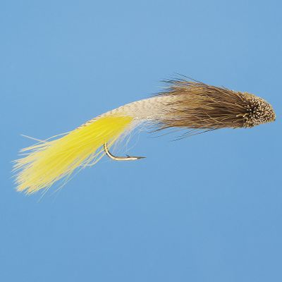 Flyfishing The Zoo Cougar is a great minnow imitator that brings out the big boys. Per each. Sizes: 2, 4. Colors: (007)White, (004)Yellow. Color: Yellow. Type: Streamers. - $3.99