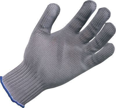Camp and Hike Keep all your digits safely intact with these gloves. A comfy blend of natural and synthetic fibers with stainless steel provides must-have protection. Sizes: Medium, Large. Color: Stainless Steel. - $17.99