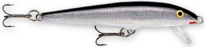Fishing The Original Floating Minnow from Rapala can be fished using a steady retrieve, stop-and-go retrieve or as a twitch bait. No matter how you fish this classic bait, its guaranteed to bring em running. This lure has proven itself in a variety of conditions over the years. Per each. Sizes: F03 - Two No.12 Treble Hooks; 1-1/2, 1/16 oz.; Runs 2-4 ft. F05 - Two No.10 Treble Hooks; 2, 1/16 oz.; Runs 3-5 ft. F07 - Two No. 7 Treble Hooks; 2-3/4, 1/8 oz.; Runs 3-5 ft. F09 - Two No. 7 Treble Hooks; 3-1/2, 3/16 oz.; Runs 4-6 ft. F11 - Three No. 6 Treble Hooks; 4-3/8, 3/16 oz.; Runs 4-6 ft. F13 - Three No. 5 Treble Hooks; 5-1/4, 1/4 oz.; Runs 4-6 ft. F18 - Three No. Treble Hooks; 7, 11/16 oz. ; Runs 6-11 ft. Colors: (001)Silver, (002)Gold, (003)Hot Steel, (005)Gold/Fluorescent Red, (014)Blue, (017)Perch, (021)Firetiger, (029)Silver Fluorescent/Chartreuse, (117)Yellow Perch, (205)Brown Trout, (353)Rainbow, (428)Purpledescent, (666)Vampire, (918) Live Pike, (925)Live Rainbow Trout, (932)Live Smelt, (949)Live Walleye. Color: Chartreuse. Type: Stick Baits. - $6.49