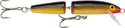 Fishing The Rapala Jointed Minnowshard-to-ignore action can make the difference between a day of fishing and a day of catching. The extra action imparted by its jointed body makes it the perfect attention-getting bait for big bass and pike. This timeless lure is favored by anglers from the Southeast to the far reaches of Canada. Per each. Sizes: J5: 2, 1/8 oz. J7: 2-3/4, 1/8 oz. J9: 3-1/2, 1/4 oz. J11: 4-3/8, 5/16 oz. J13: 5-1/4, 1/2 oz. Colors: (001)Silver, (002)Gold, (005)Gold/Fluorescent Red, (014)Blue, (017)Perch, (021)Firetiger, (029)Silver Fluorescent/Chartreuse, (117)Yellow Perch, (303)Brook Trout, (353)Rainbow Trout (900)Pike. Color: Chartreuse. Type: Stick Baits. - $7.49