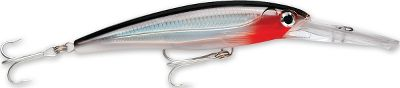 Fishing A large diving lip takes this lure deep without the assistance of added weight that can affect action. The XR Mag10 is engineered to run at a depth of 10 ft. at speeds up to 13 knots. Translucent textured bodies with internal holographic foil and 3-D holographic eyes team with enticing colors to provoke strikes. Super-sharp VMC 4X Perma Steel hooks on 3X split rings seal the deal when a fish hits. Size: 4-3/8, 3/4 oz. Colors: (001)Silver, (011)Red Head, (102)Gold Green Mackerel, (109)Yellow Fin Tuna, (382)Silver Blue Mackerel, (499)Blue Sardine, (556)Bunker, (692)Dorado, (822)Bonito. Color: Translucent. - $12.88