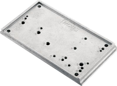 "Use on any work surface. Pre-tapped holes for quick mount or dismount. For use with case trimmers, powder measure stands, most RCBS presses and other bench-mounted accessories. Measures 10""L x 6""W x 1""H. Type: Bench Top Accessories. - $39.99"
