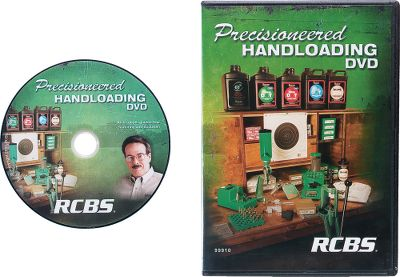 If you've been thinking about getting started loading your own ammunition, or if you're a veteran reloader looking for helpful tips, this 32-minute DVD is for you. Hosted by Jim Scoutten of Shooting USA, the program introduces you to information and equipment needed for loading rifle, pistol and shotgun ammo. From case prep and presses to powders and primers, you'll see how easy and fun it is to load your own while getting a look at the latest equipment from RCBS. - $10.19