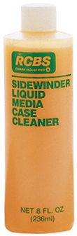 Specially created for the Sidewinder Rotary Case Tumbler, this concentrated formula gets cartridge cases spotless. 8-oz. bottle mixes with water to make 4 gallons of cleaning media. Made in USA. - $5.88