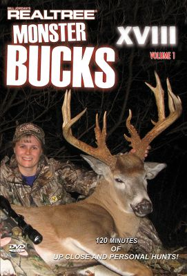 Hunting Monster Bucks XVIII Vol. 1 and 2 take you on a fun-filled trip with Team Realtree you on their quest for monster deer. Hang onto your hat as breathtaking 150 - and 160 -class monsters close the distance and meet their maker! Available: Monster Bucks XVIII Vol. 1 120 minutes, DVD Monster Bucks XVIII Vol. 2 120 minutes, DVD - $7.88