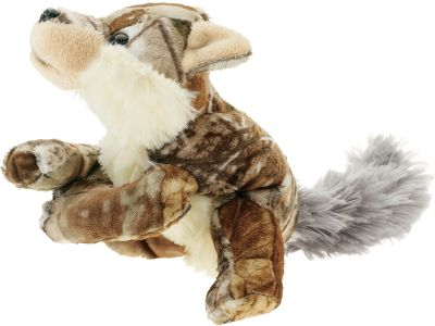 "Hunting Plush, loveable and dressed in Realtree AP camo, these super-soft CamoWild animals have a one-of-a-kind look and a floppy, ready-to-snuggle feel. Imported.Available: 9"" Labrador, 8-/2"" Wolf, 9"" Cougar, 8"" Turkey. - $9.99"