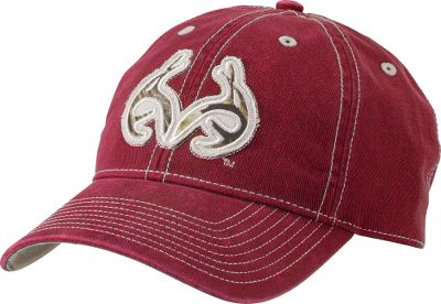 Hunting Boasting an embroidered antlers patch on the front, this relaxed-fit cap is garment-washed for a soft, broken-in feel. Realtree Outfitters patch above adjustable closure. One size fits most. Imported.Colors: Cardinal, Navy. Type: Caps. Size: One Size Fits Most. Size One Size Fits Most. Color Cardinal. - $17.99