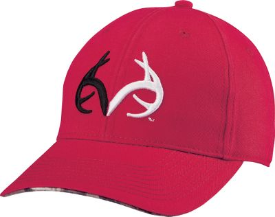 Hunting Sporting a two-tone color scheme with Realtree logo, this comfortable cap exudes outdoor attitude. Garment-washed 100% cotton for a pleasing, broken-in look and feel, it features raised embroidery. Slide-adjustable back strap. One size fits most. Imported. Colors: Cardinal Red, Purple, Red. Size: ONE SIZE FITS ALL. Color: Red. Gender: Male. Age Group: Adult. Material: Cotton. - $13.88