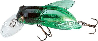Fishing When theyre hitting insects on the surface of your favorite pond, just break out your ultralight gear and cast one of these 1/10-oz. lures. With their realistic insect-like appearance and attention-grabbing action, theyll entice the most finicky fish. Their super-sharp treble hooks ensure positive hooksets. Colors: (202)June Bug, (410)Bumble Bee, (708)Horsefly, (900)Hornet. Type: Crankbaits. - $6.19
