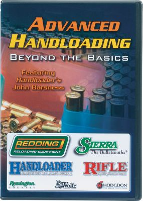 Hosted by John Barsness, contributing editor of Handloader Magazine, this DVDoffers the techniques and tips needed to make your handloads perform to your expectations. Topics include:checking concentricity, checking cases, neck sizing, case sizing, selecting a bushing, cartridge headspace, case trimming, cartridge OAL, ignition system, powder selection, record keeping and handloading myths. Type: Misc. Accessories. Type: Misc. Accessories. - $14.88