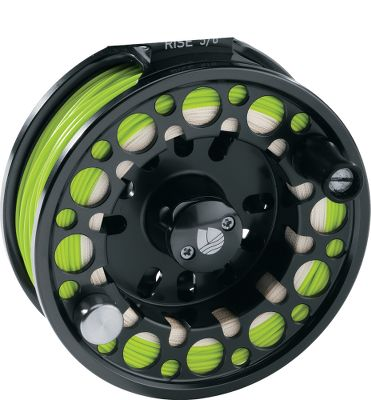 Flyfishing Be ready for changing conditions with a spare spool of different weighted line for your Redington Rise reel. Fully machined aluminum construction delivers strength and durability in a lightweight package. - $69.88