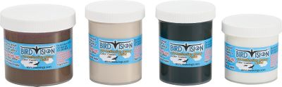 Hunting Birds enjoy sharper vision, allowing them to see in the ultraviolet spectrum. With Bird Vision UV Paint Kits, your decoys will reflect UV light and colors, making them more realistic to waterfowl. Available: Snow Goose Guide Kit; Three Colors for up to 25-dozen decoys Type: Decoy Paint. - $79.88
