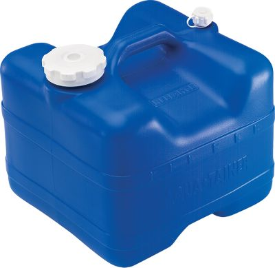 Camp and Hike The Aqua-Tainer has a space-saving rectangular design for easy storing. On/off switch reverses to store safely inside container. Liquid level indicator. Not for use with flammable liquids. Sizes: 4 Gallon, 7 Gallon. Size: 7 GALLON. - $24.99