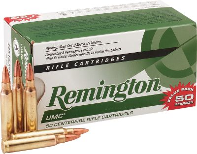 Hunting For practice, target shooting or maximum plinking performance, UMC centerfire rifle ammunition is precisely loaded with metal-case bullets in six highly popular calibers. Choose from rounds loaded for the .223 or .17 Fireball. Each load is designed and quality manufactured for superior dependability and extreme reliability in all types of actions and firearms. UMC rifle ammunition offers an outstanding, unbeatable value to the high volume shooter. - $89.99