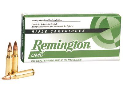 Hunting UMC offers value without compromising quality or performance. With this great deal you can afford to shoot all day long. New-manufacture 115-gr. FMJ ammo for target shooting or plinking. Type: Centerfire Rifle. - $74.99