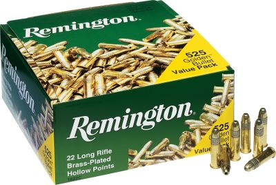 Bank on classic Remington quality and reliability with their .22 LR Rimfire Ammunition. Perfect for tournament competition, training new shooters or roaming target-rich woodlands for small varmints. Built for shot-after-shot performance and versatility using the same level of care thats put into Remingtons centerfire ammo. Type: Rimfire Ammuntion. - $34.99