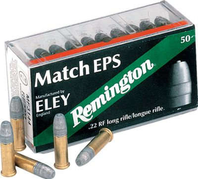 When it comes to rimfire ammo that wins matches, only Eley is worthy of the Remington name. This is serious .22 long-rifle ammunition for serious shooters who insist on exceptional accuracy and performance from each and every shot. Three superior-grade versions to choose from. Per 50. - $14.88