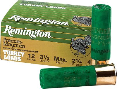 Hunting Copper-plated lead resists deformation and adds penetration on impact. Magnum loads carry more lead for denser patterns. 10 rounds per box. Type: Turkey Loads. - $16.99