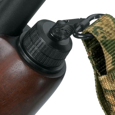 Quickly and easily converts a Remington 20-gauge model 870, 1100 or 11-87 for sling attachment. Universal magazine cap with swivel stud replaces your existing magazine cap. Rear swivel stud simply screws into place after minor drilling. Sling not included. Type: Magazine Caps. - $22.88