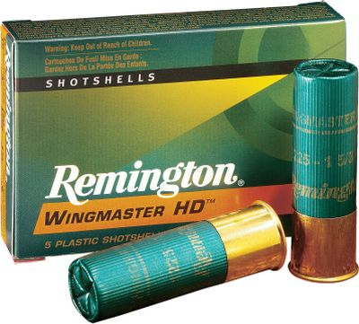 "Hunting With pellet density 10% greater than lead and 56% denser than steel, Wingmaster HD lets you reach out farther to put the hammer down on turkeys. Unlike other nontoxic alternatives, this shot is perfectly round for optimal pattern consistency, and that means more birds in the blind at the end of the day. 5 rounds per box.Available: Gauge: 12 Gauge, Shell Length: 3, Oz. Shot: 1-5/8 oz., Shot Size: #4. Cal/Gaug 12ga 3"" 15/8oz #4. - $14.88"