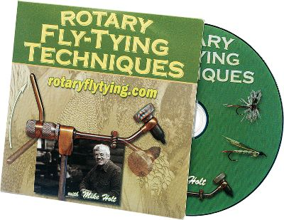 Flyfishing Learn what true rotary is all about, while learning how to tie various fly patterns using the true rotary techniques. 30-minute DVD. - $25.95