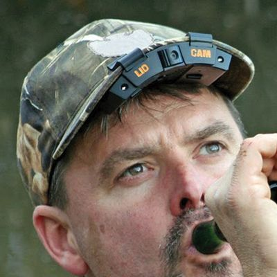 Hunting Record 720P, high-definition video with a hands-free video camera that mounts securely on the brim of your cap. Weighing less that 4 oz., this camera offers simple, look-and-record convenience with high-quality sound for an in-your-face, first-person view of all your hunting adventures. Adjustable, 60 rotating lens angle for the perfect down-barrel shot. 8X digital zoom with three presets for fast in-the-field adjustment. Two multifunction buttons provide hassle-free operation. Lithium-ion battery provides three hours of recording time and nine hours of standby time. Automatically reduces wind noise for clearer audio. Date and time-stamped video. Dual LED lights for nighttime recording. Low-battery indicator. Playback mode for fast review. USB port for easy file transfers and software upgrades. Micro SD card compatible for expanding memory. Includes 2GB Micro SD card for recording up to one hour of video. Type: Action Cameras. Type: Action Cameras. - $119.88