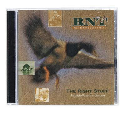 Hunting Rich-N-Tone Right Stuff CDs deliver all the calling tips and instructions you need to get the Right Stuff. Type: Duck Calling CDs. - $4.88