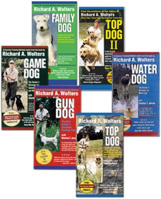 Fitness These 60 plus-minute DVDs are divided into chapters that can be flipped to instantly with the click of your remote, and have taken Richard Wolters classic training techniques and titles and transferred them to an easy to follow training course demonstrated by modern day professionals for you and your dog. Available: The 39-chapter Game Dog focuses on upland and waterfowl work. Watch as a handler takes a seven week old pup and transforms it into a skilled partner. The DVD also covers force fetching and honoring. Water Dog takes you, in 47 chapters, from the beginning steps of choosing a puppy and basic commands to advanced hand signals, multiple marking, force fetching and honoring. Everything that a waterfowler wants in a retriever is covered in this video. The DVD adds some upland info for a more rounded hunter. 48 chapters of Gun Dog go into the areas of the essential whoa commands using the time tested pulley technique, and sometimes tricky retrieving skills involving force fetching. Gun Dog DVD also covers 5 tests for pup selection and offers vet tips. The 37-chapter Family Dog is for a healthy first class member of your family, includes dog selection, house breaking and basic obedience all without unneeded frustration and time consuming training marathons. Type: Dog Training DVDs. - $22.88